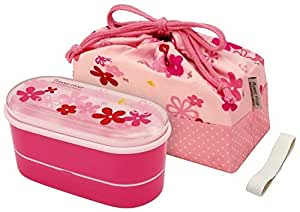 (2 Dan chopsticks belt) flower river with a bag lunch box (P) KSX2 (japan import)