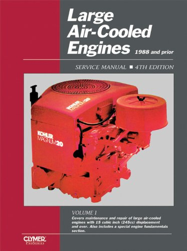 Large Air-Cooled Engine Vol 1 (Large Air-Cooled Engine Service Manual, 1988 & Prior)
