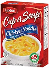 Lipton Cup-a-soup Chicken Noodle with White Meat 4 Pack