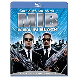 "Will Smith plays Agent J in this science fiction film, ""Men in Black."""