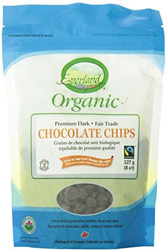 Everland Organic Dark Fair Trade Chocolate Chips, 227gm