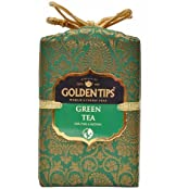 Golden Tips Darjeeling Green Tea Brocade Bag (250g)