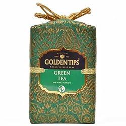 Golden Tips Darjeeling Green Tea Brocade Bag (250g)