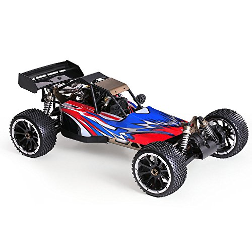 Goolsky HSP 94054S Bajer 1:5 4WD Electric Monster Remote Control Car 2.4Ghz 2CH 32CC Gasoline Powered Desert Buggy RTR Truck Super Large Size (Car Remote Control Gasoline compare prices)