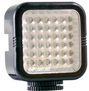 Polaroid Studio Series Rechargeable 36 LED Light Bar For Camcorders, Digital Cameras & SLR's