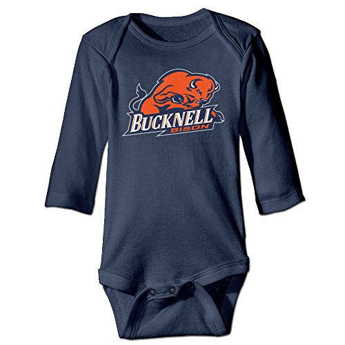 NORAL Babys Bucknell University Long Sleeve Jumpsuit Outfits Navy Size 6 M (Bucknell Football compare prices)