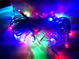 Set of 5 Pcs RGB LED Rice Lights Chain for DIWALI Decoration