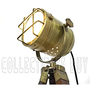 Brass Vintage Look Lamps Home & Office Elegant Designer Floor Lamp