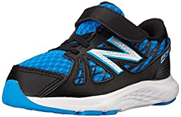 New Balance KV690I Running Shoe (Infant/Toddler), Blue/Black, 2 W US Infant