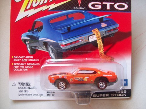 Johnny Lightning Pontiac GTO Series 1969 Super Stock