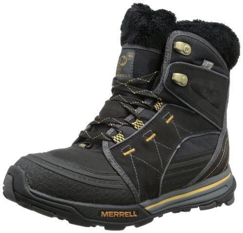 Merrell  SNOWFURY WTPF,  Scarpe da escursionismo e trekking donna, Nero (Schwarz (BLACK)), 37