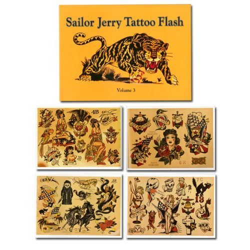 Featuring 64 pages of Sailor Jerry's classic tattoo flash, straight from the