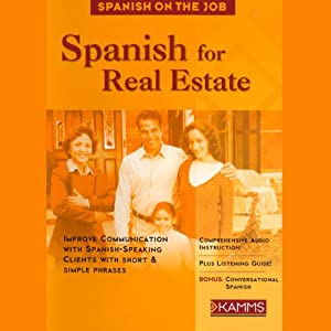 Spanish for Real Estate Audiobook