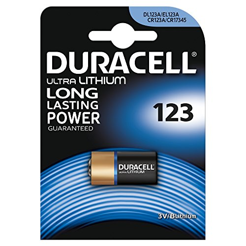 Duracell Ultra Lithium Batterie Specialistiche per Foto al Litio 123, 1 Cella