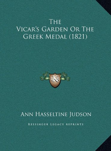 The Vicar's Garden or the Greek Medal (1821)