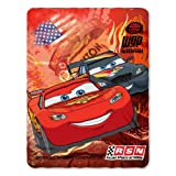 Disney Cars Blanket Fleece Throw Lightning Mcqueen 45x60