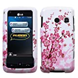 MyBat LG Rumor Touch / Banter Touch Phone Protector Cover - Spring Flowers