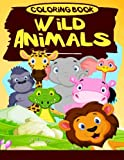 Wild Animals Coloring Book (Jumbo Coloring Book) ( Coloring Books for Kids) (Volume 5)