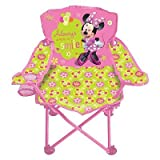 Minnie Mouse Fold N' Go Patio Chair (Always Wear a Smile)