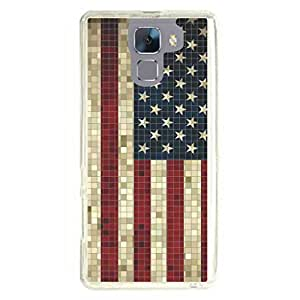 a AND b Designer Printed Mobile Back Cover / Back Case For Huawei Honor 7 (HON_7_936)