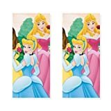 Disney Princess Party Tablecovers - 2 Pieces