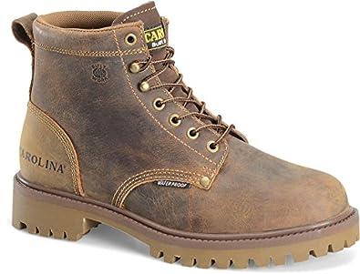 Carolina CA7558 Mens 6'' Steel Toe Waterproof Work Boot