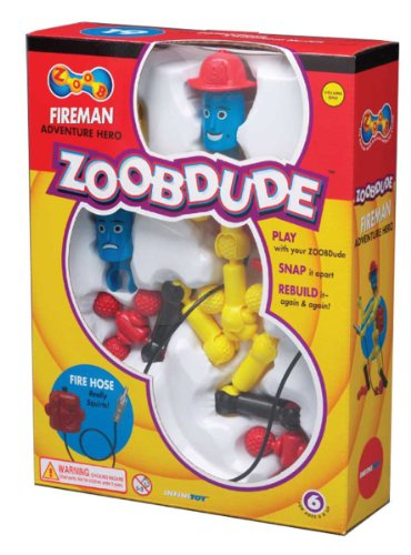 ZOOB Dude Fireman Modeling System