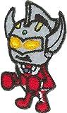 パイオニア ウルトラマンシリーズbyパンソンワークス〈ウルトラマンタロウ〉 シール・アイロン両用タイプワッペン PU300-PU03 3枚セット