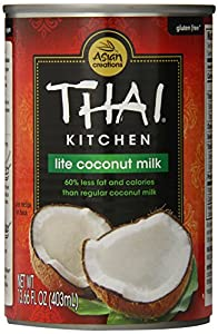 Thai Kitchen Pure Coconut Milk Lite, 13.66-Ounce Unit (Pack of 12)