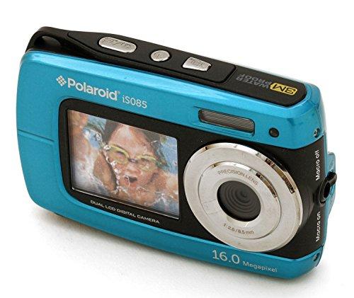 Polaroid-IF045-14-Megapixel-impermeabile-doppia-fotocamera-Digital-Screen-Blu-14MP-2-Schermi-impermeabile-a-3-Metri-27-dello-schermo