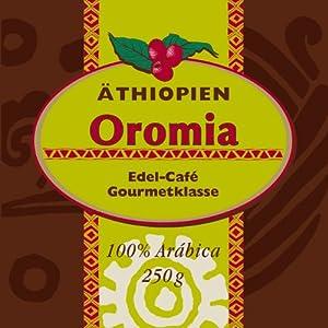 El Puente Äthiopien-Kaffee Oromia Bohne, 4er Pack (4 x 250 g)