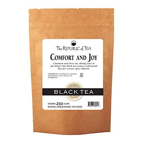 The Republic Of Tea Comfort And Joy Black Tea, 250 Tea Bags
