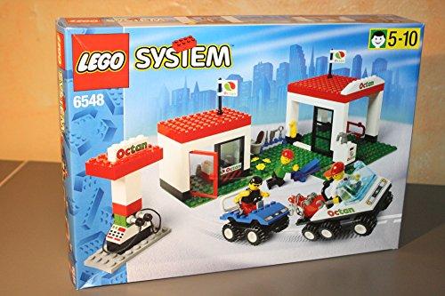 LEGO System Stadt 6548 Tankstelle