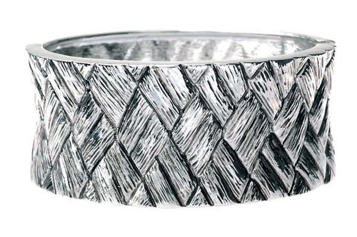 Jodie Rose Antiqued Woven Cuff Bangle