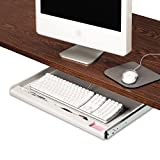 Standard Underdesk Keyboard Drawer, Light Gray