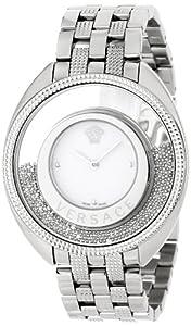 Versace Women's 86Q99D002 S099 Destiny Spirit Steel Bracelet Silver Indexes Watch
