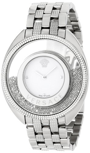 Versace Women's 86Q99D002 S099 Destiny Spirit Steel Bracelet Silver Indexes Watch