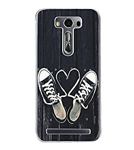 Love Laces 2D Hard Polycarbonate Designer Back Case Cover for Asus Zenfone Selfie ZD551KL