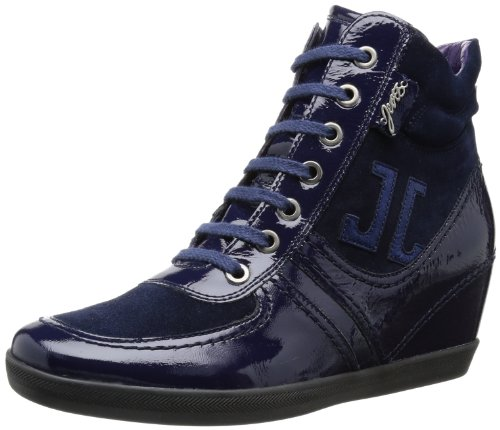 Jette Miss Hunter Wedge Sneaker I High Womens Blue Blau (dark blue 402) Size: 5 (38 EU)
