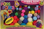 Pepperell Assorted Pom Poms, Standard...