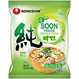 Nongshim Soon Vegan Noodle Soup, 3.95 Ounce (Pack of 10)