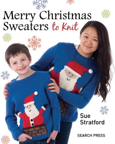 Merry Christmas Sweaters - 8 Different Sizes (4 Adult & 4 Kids)