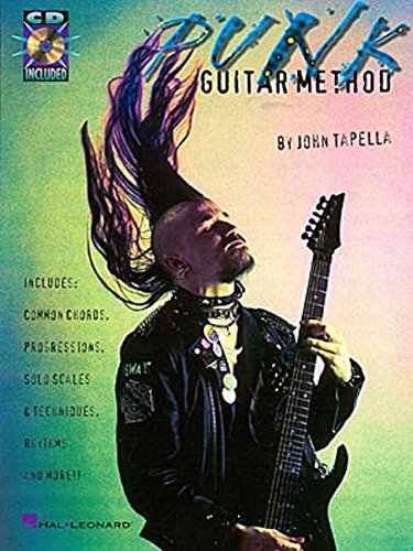 Punk Guitar Method Bookcd
