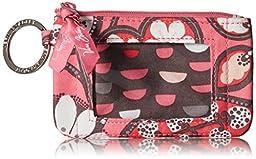 Vera Bradley Zip Id Case Clutch, Blush Pink, One Size