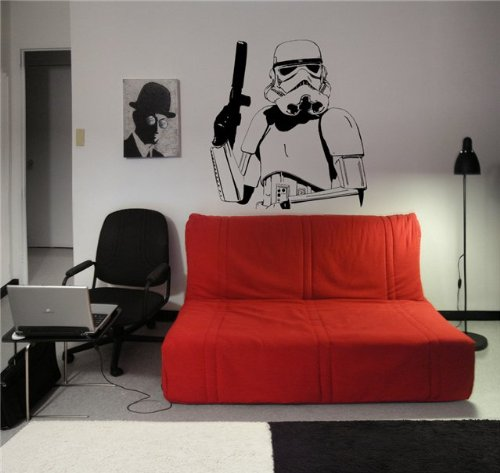 STAR WARS TROOPER Wall Decor Vinyl Decal Sticker