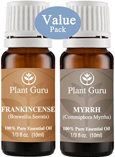 Frankincense and Myrrh Essential Oil. 10 ml. 100% Pure, Undiluted, Therapeutic Grade.