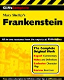 Cliffscomplete Shelley's Frankenstein (0764587269) by Behrendt, Stephen C.