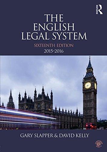 English Legal System Bundle: The English Legal System: 2015-2016