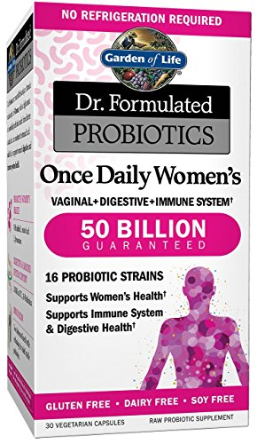 Garden of Life Dr. Formulated Probiotics Once Daily Women's 30 Capsules (Probiotic Organic compare prices)
