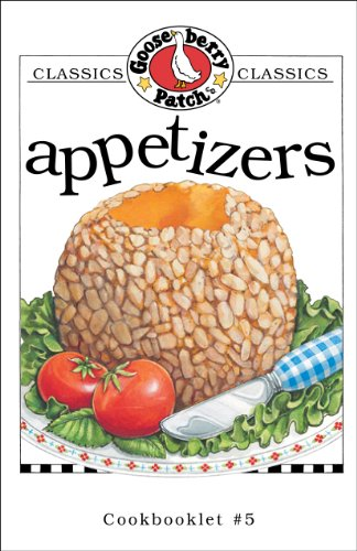 Appetizers Cookbook (Classic Cookbooklets) by Gooseberry Patch